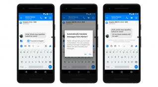 Facebook çeviri önerileri Messenger'da yerini aldı