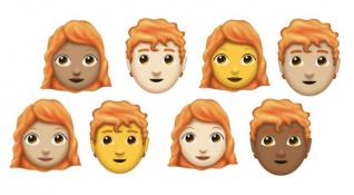 Unicode Emoji 11.0 ile kızıl saçlı emojiler bu hafta yayınlanacak