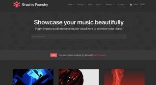 Hazır After Effects şablonları kütüphanesi Graphic Foundry ile müzik videoları yaratmak mümkün