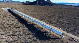 Virgin Hyperloop One, optik bir yanılsamayla tünelde giderken dışarıyı gösterebilir
