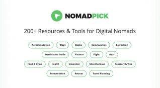 Nomadpick: Digital Göçebeler için kaynak ve araçlar