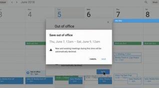 """Google Takvim'e """"Ofis Dışında"""" özelliği geliyor"""