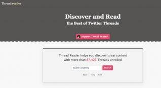 """Twitter'daki """"flood"""" içerikleri okumanın kolay yolu: Thread Reader"""