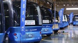 Baidu, Seviye 4 otonom araçlarının seri üretimine başladı
