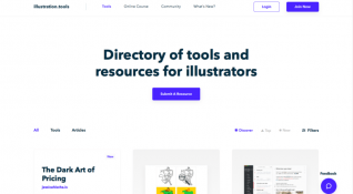 İlüstratörler için kaynak niteliğinde platform: Illustration Tools
