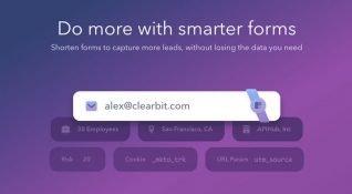 Clearbit'in form oluşturma aracı ile yeni üyeleriniz hakkında daha fazla bilgi sahibi olun
