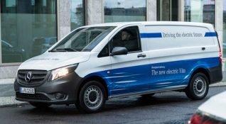 Amazon elektrikli araç filosuna 100 eVito katıyor