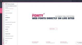 Siteniz yayındayken kod yazmadan yeni fontlar deneyin