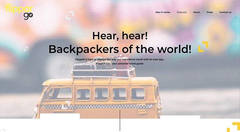 Yeni nesi bir gezi rehberi uygulaması olarak hizmet veren FlippAR Go, artırılmış gerçeklik teknolojisini kullanıyor. Oldukça basit bir kullanıma sahip olan FlippAR Go, ak