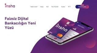 Şubesiz ve tamamen dijital bankacılık hizmeti Insha, kullanıma sunuldu