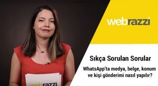 Sıkça Sorulan Sorular: WhatsApp'ta medya, belge, konum ve kişi gönderimi nasıl yapılır?