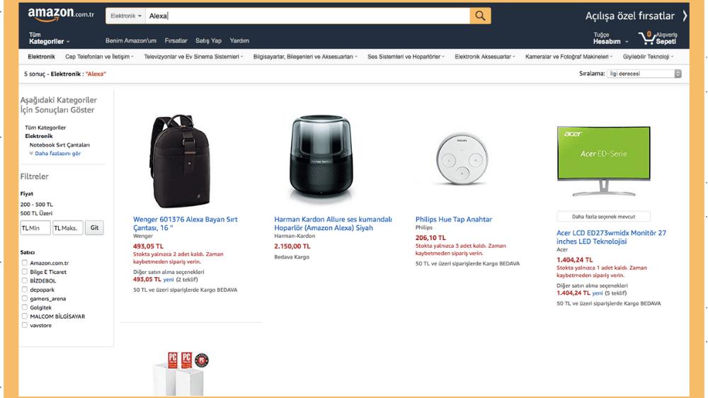 Amazon Un Beklenen Markaları Henüz Türkiye De Hizmete Açılmadı Webrazzi