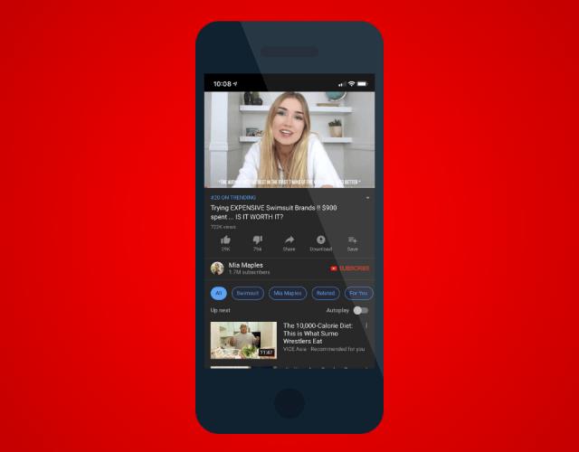 YouTube mobilde videoları artık otomatik oynatacak
