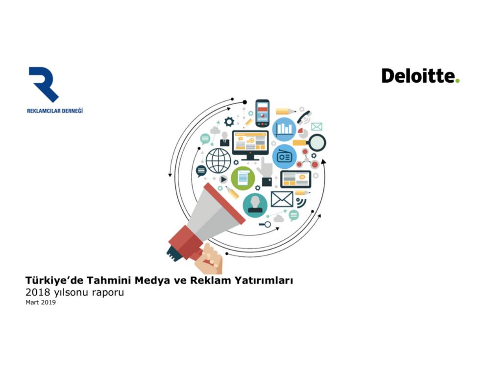 b840d7dd3e9c6 Türkiye 2018 Medya ve Reklam Yatırımları Raporu: Dijital yüzde 15 büyürken,  TV aynı, Basın ise küçülüyor