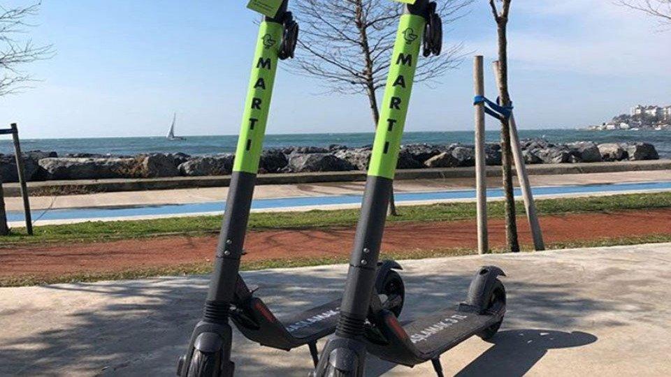 İstanbul için elektrikli scooter paylaşım girişimi: Martı - Webrazzi
