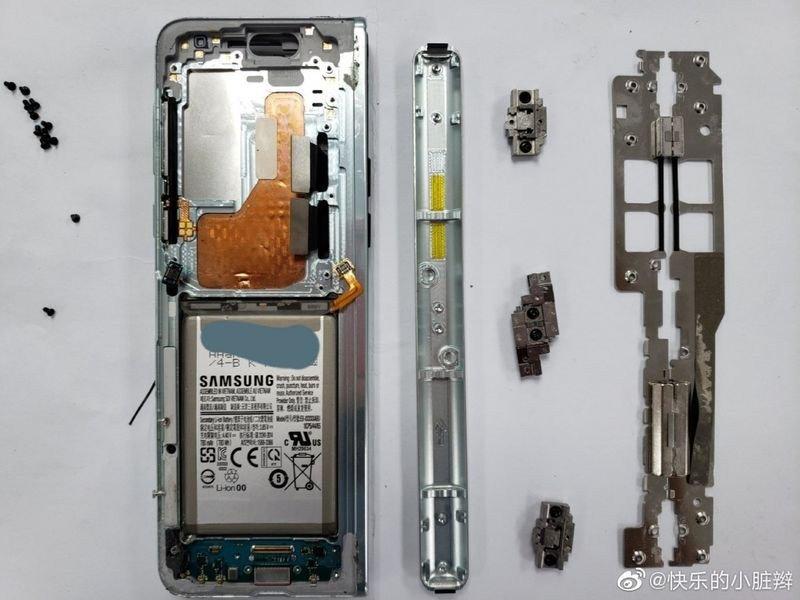 Samsung Galaxy Fold'un içinde yer alan bileşenler, teker teker incelendi  - Webrazzi