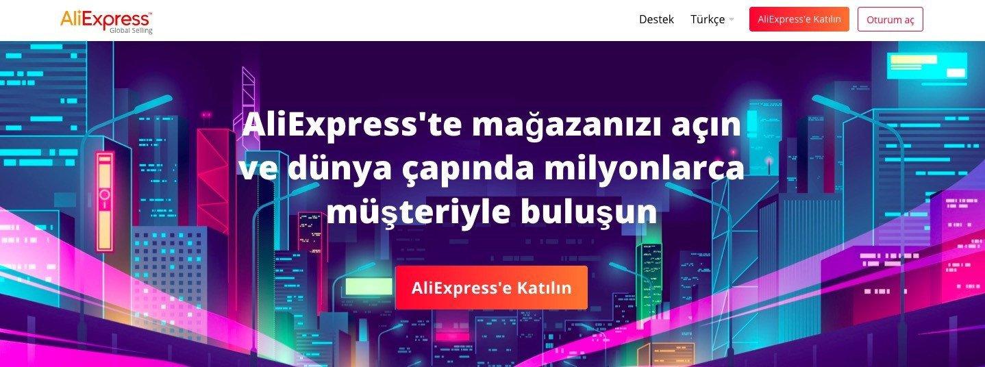 aliexpress AliExpress, Türkiye Operasyonuna Başladı! İhracat Yapabilirsiniz aliexpress 9