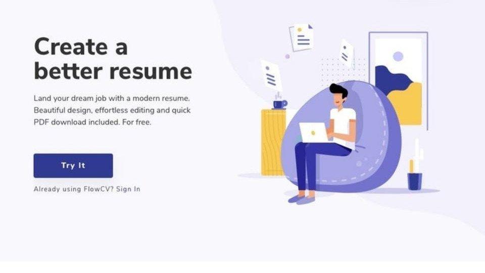 Free Online Resume Builder Flowcv Webrazzi