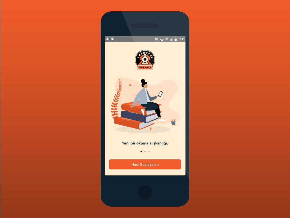 Yayın hayatına Eylül ayında başlayan ve aylık olarak yayınlanan Trendeki Yabancı, iOS ve Android platformlarından indirilebiliyor. Uygulama abonelik üzerinden gelir elde ediyor.