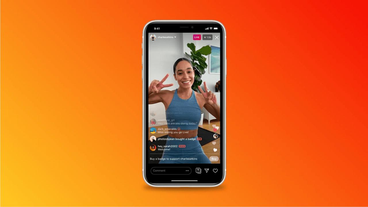 Instagram Influencerları, Canlı Yayın ve IGTV üzerinden gelir elde etmeye başlayacak