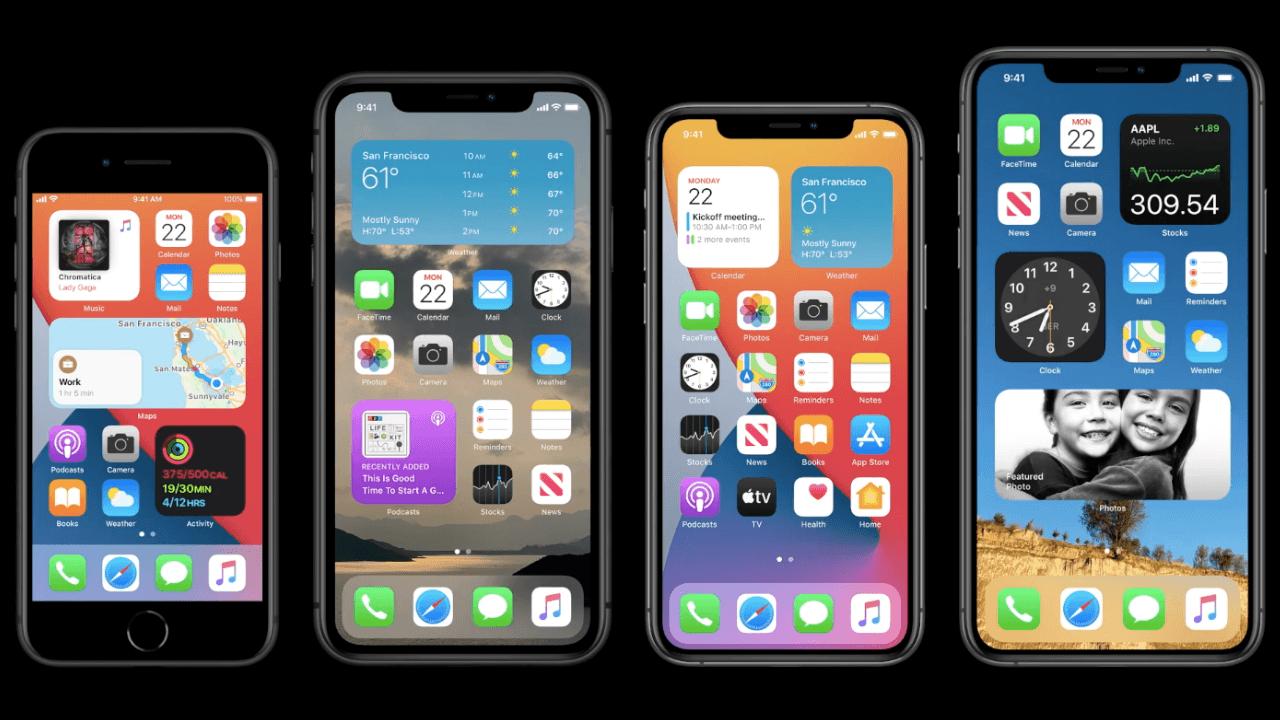 iOS 14 ve iPadOS 14 herkesin kullanımı için beta olarak sunuldu