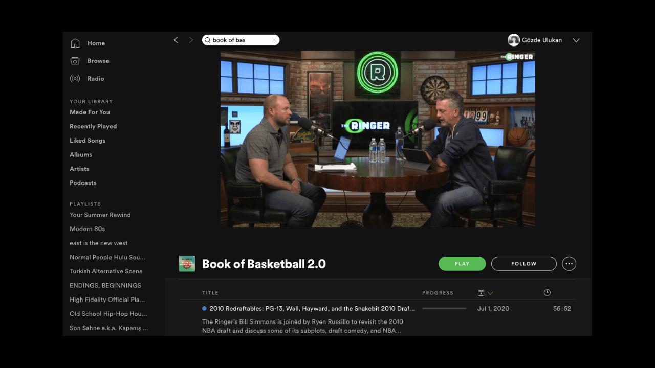 Spotify, video podcast özelliğini yayına aldı