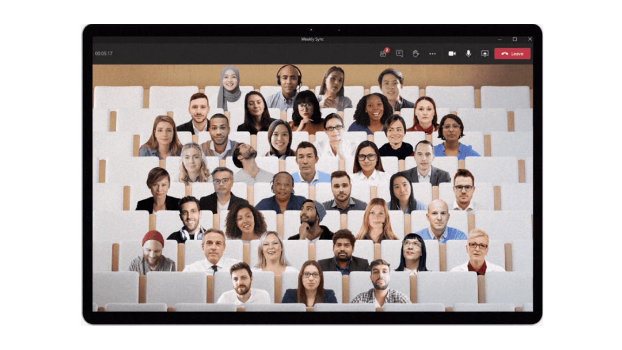 """Microsoft Teams yeni yapay zeka destekli """"Together"""" özelliğini tanıttı"""