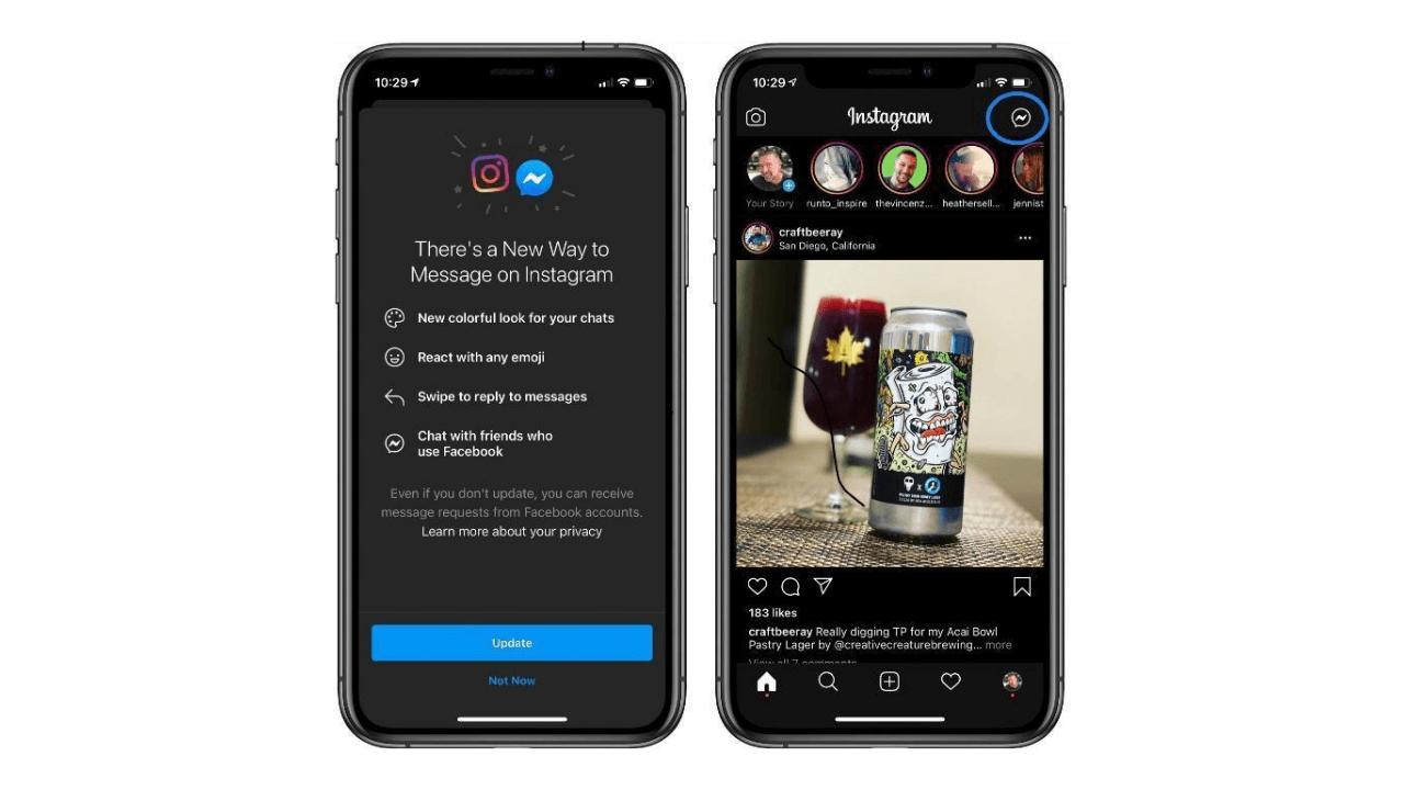 Facebook, Instagram ve Messenger mesajlarını birleştiriyor - Webrazzi