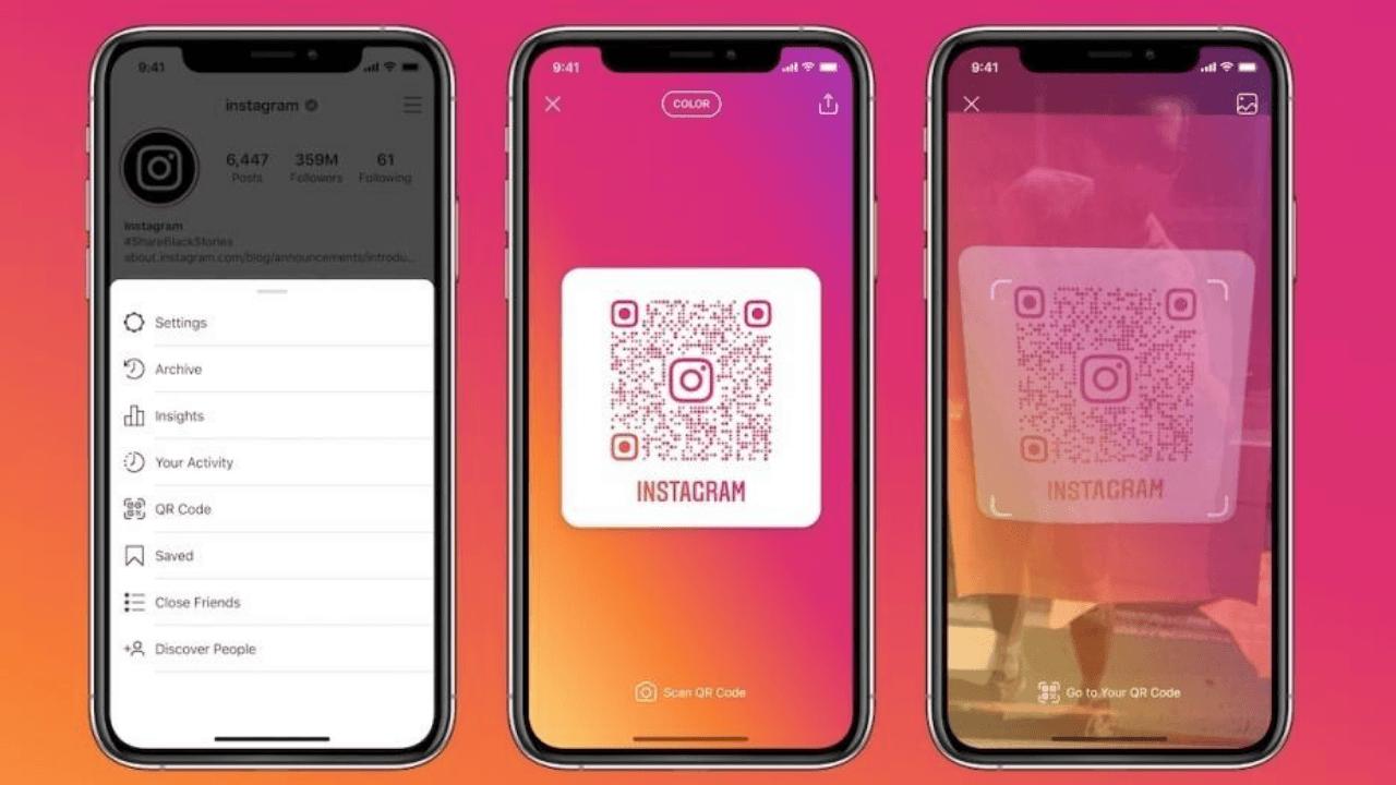 Fiziksel mağazalarda Instagram QR kod devri başlayacak