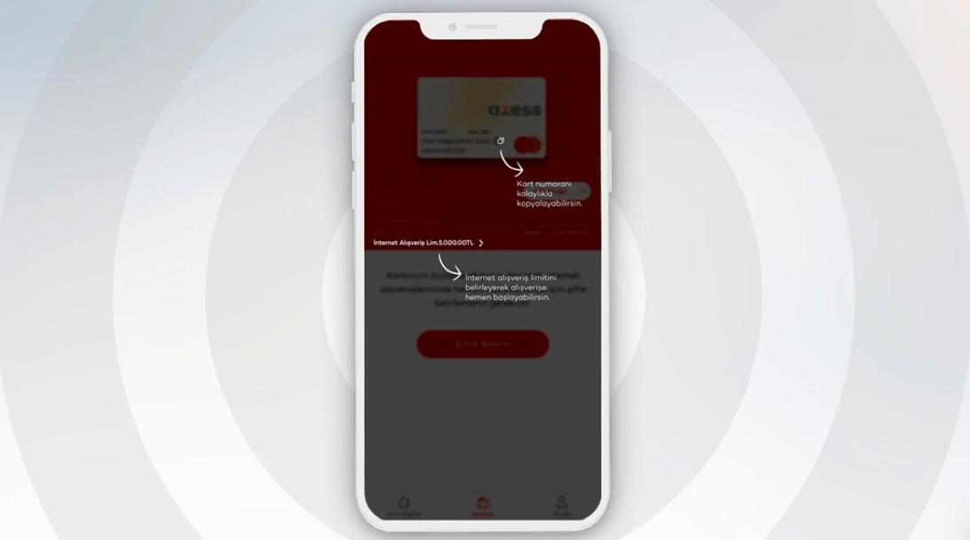 Mastercard'ın Apple Card'a sunduğu numarasız kart altyapısı Dijital Axess Card ile Türkiye'de 2