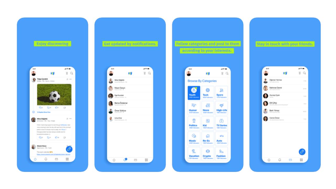TT Ventures tarafından geliştirilen yerli sosyal medya uygulaması: Yaay -  Webrazzi
