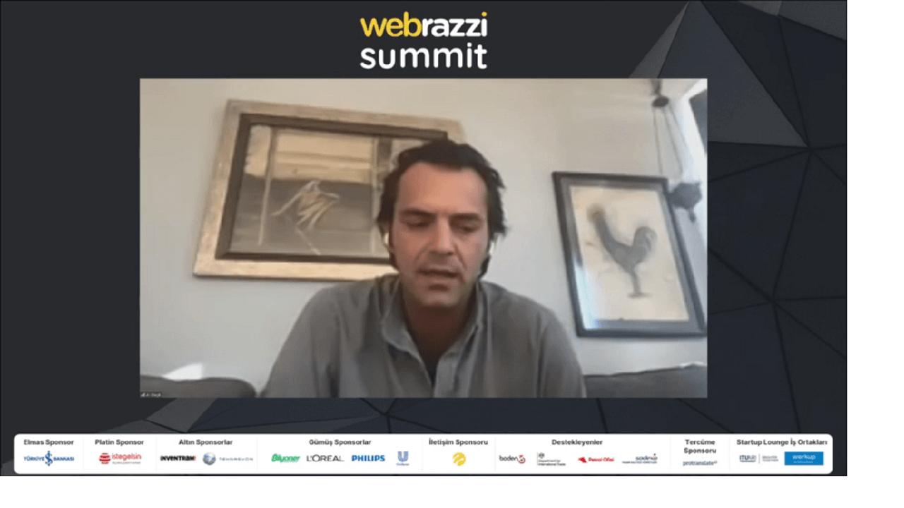 Ali Dağlı, yeni girişimi Hoopt'u resmi olarak Webrazzi Summit 2020'de duyurdu