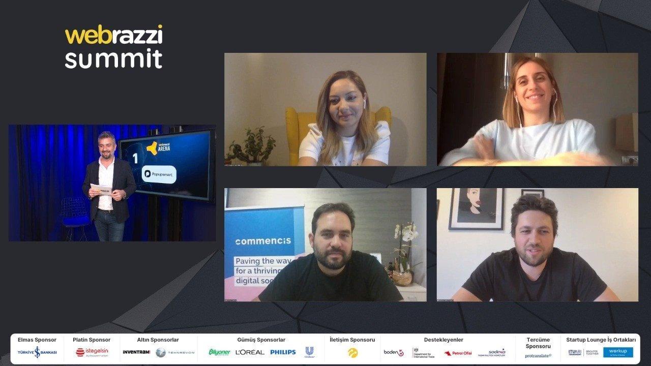 Webrazzi Arena 2020'nin kazananı Popupsmart oldu!