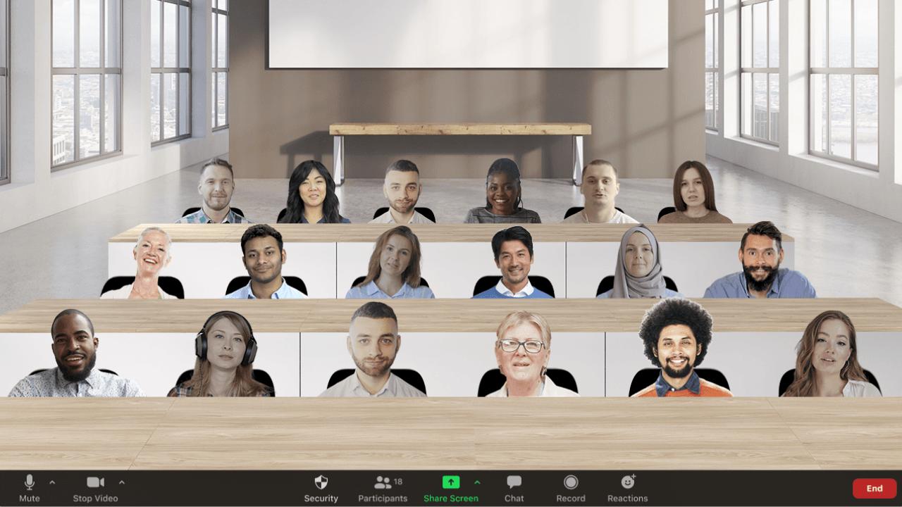 3 boyutlu sahnelerden, ifadeler ve animasyonlara Zoom ekosistemindeki yeni özellikler