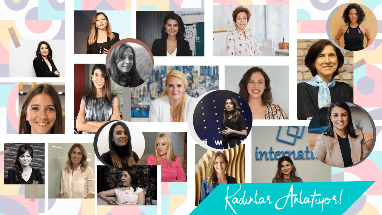 Teknoloji ve i̇nternet dünyasının önde gelen kadınları anlatıyor