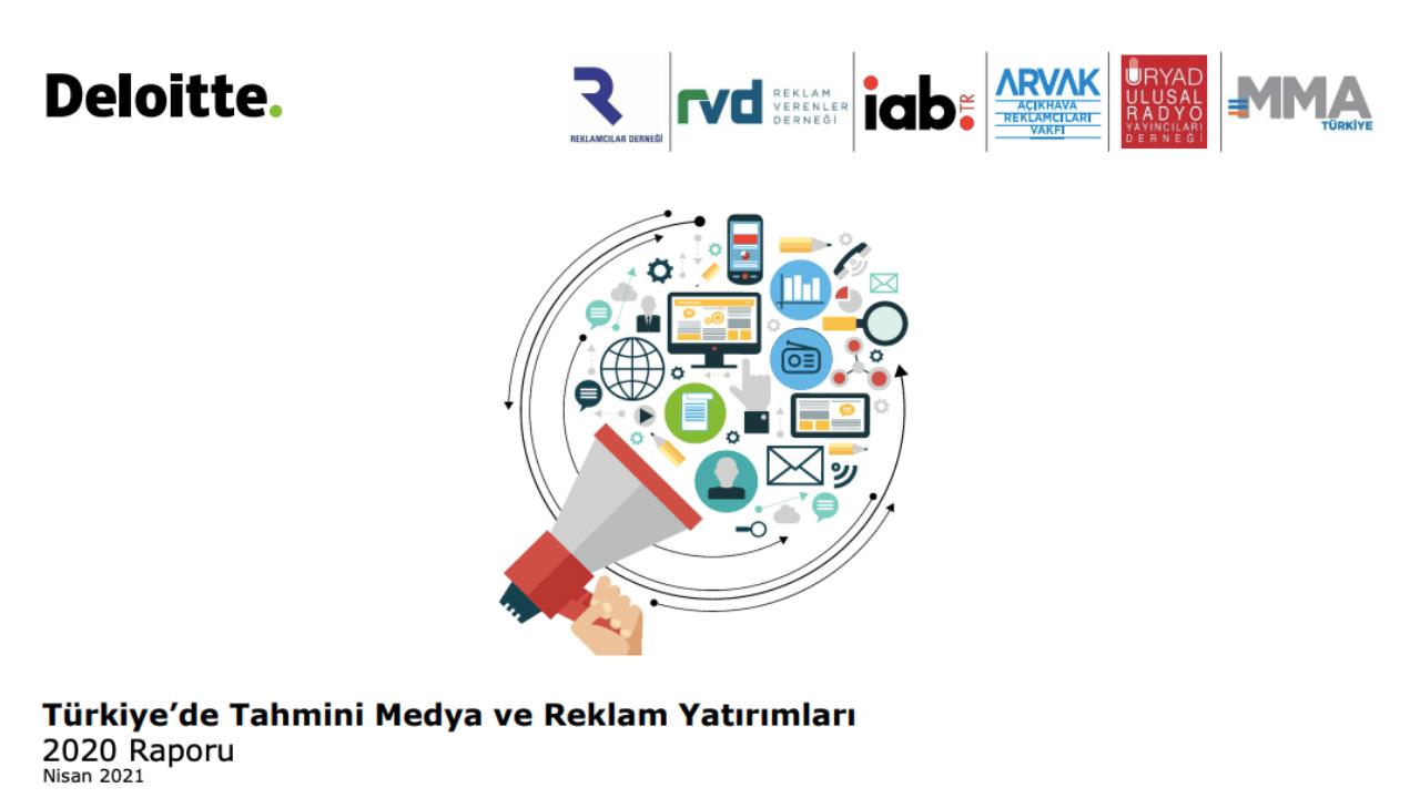 2020'de Türkiye'de medya ve reklam yatırımları dijitalde yüzde 39 artarak 7 milyar 528 milyon TL'ye ulaştı